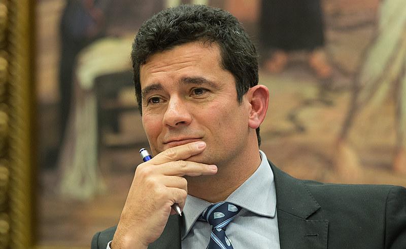 Juiz Sergio Moro durante depoimento na comissão de reforma do Código de Processo Penal na última quinta (30)