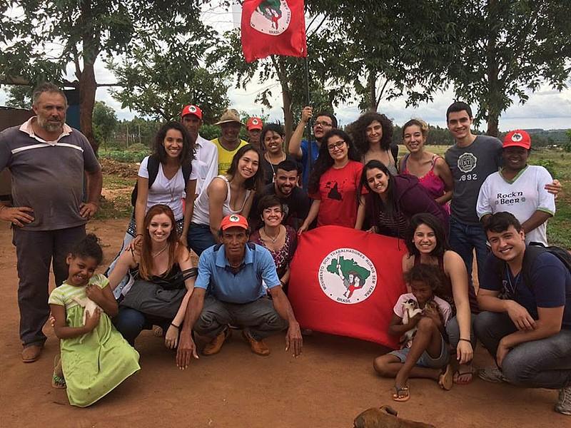 Estudantes passaram nove dias no acampamento Primeiro de Mai