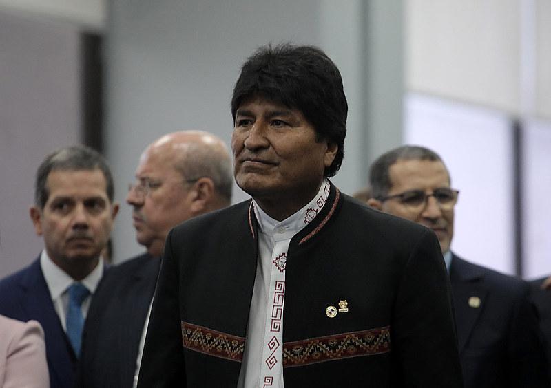 Morales assumiu o cargo pela primeira vez em janeiro de 2006