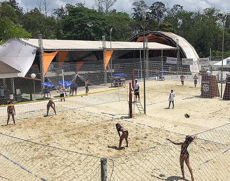 Meninas do Aero Clube do RN participaram da final do torneio