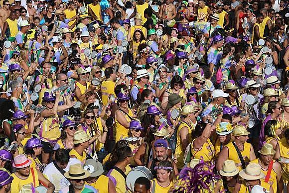 O bloco Simpatia é Quase Amor é um dos mais populares do Rio