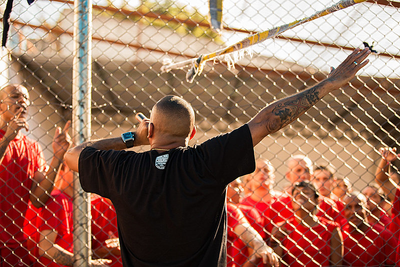 O rapper Dexter fundou o grupo de hip-hop 509-E quando esteve preso no Carandiru