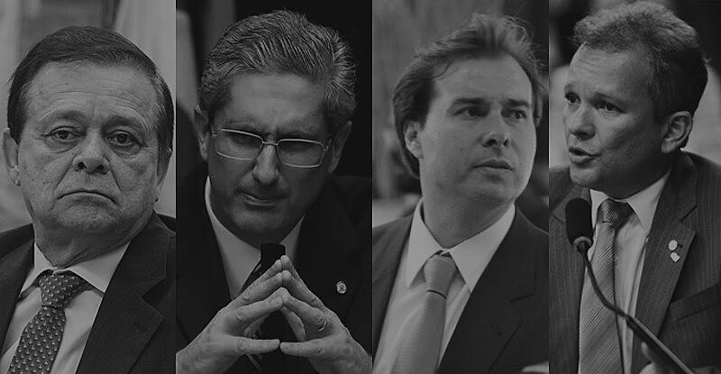 Os quatro presidenciáveis favoritos da Câmara Federal
