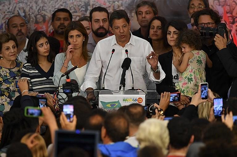 Fernando haddad fala ao país após a divulgação do resultado das eleições