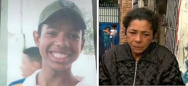 Moradores da Favela do Amor protestam e cobram respostas pelo desaparecimento do adolescente