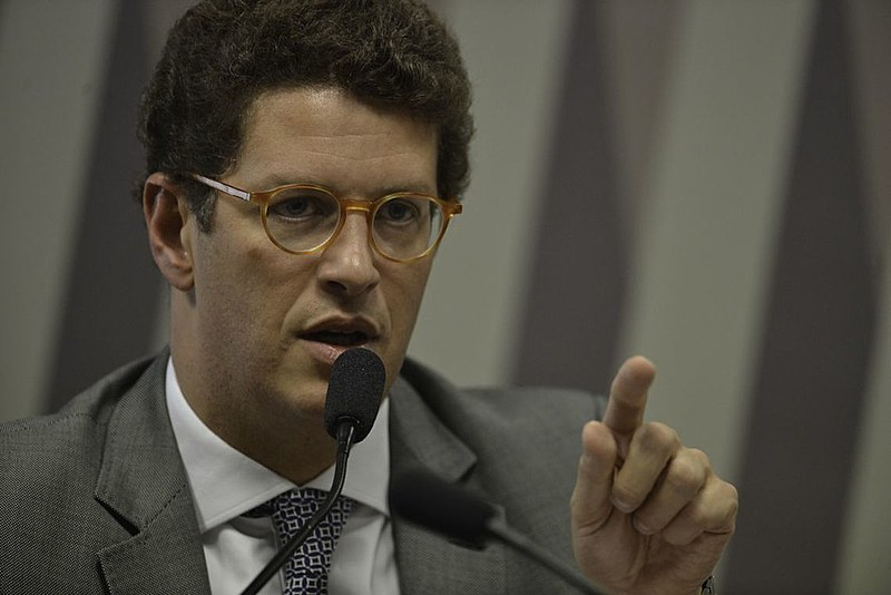 Ricardo Salles fala na Comissão de Meio Ambiente do Senado
