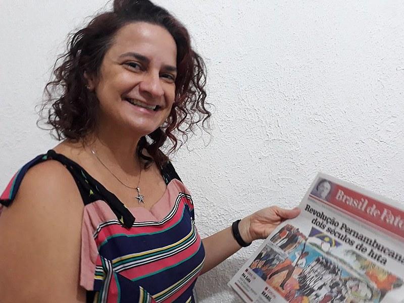 Rosa Sampaio é jornalista, atua no Centro de Cultura Luiz Freire e integra o Fórum Pernambucano de Comunicação