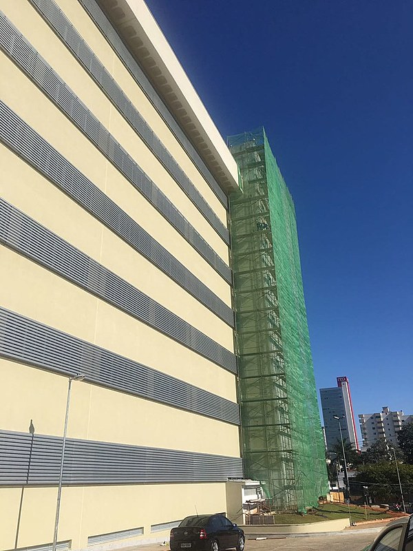 A direção do Fórum informou que o ocorrido foi uma exceção, mas que não há riscos estruturais para a utilização do prédio