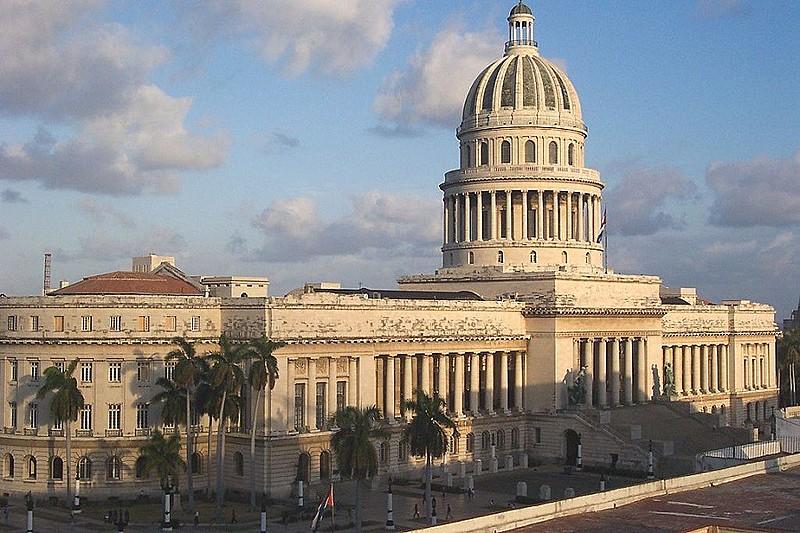 Capitólio de Cuba, onde Assembleia se reúne; eleição de novos deputados será em 11 de março