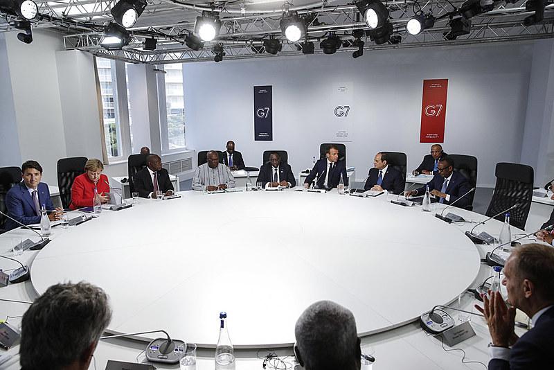 Puxado pelo anfitrião Emmanuel Macron, o aumento das queimadas na Amazônia se tornou um dos assuntos mais discutidos durante a cúpula