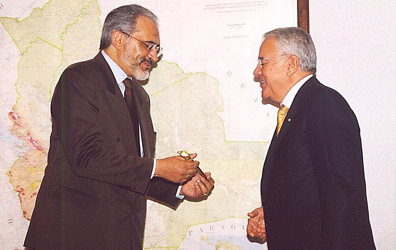 Carlos Mesa y Sánchez de Lozada