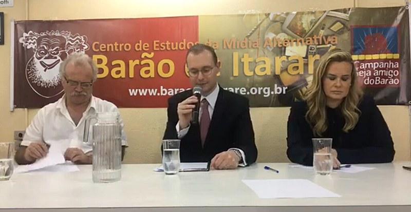 Advogados de Lula concederam entrevista coletiva à imprensa nesta segunda