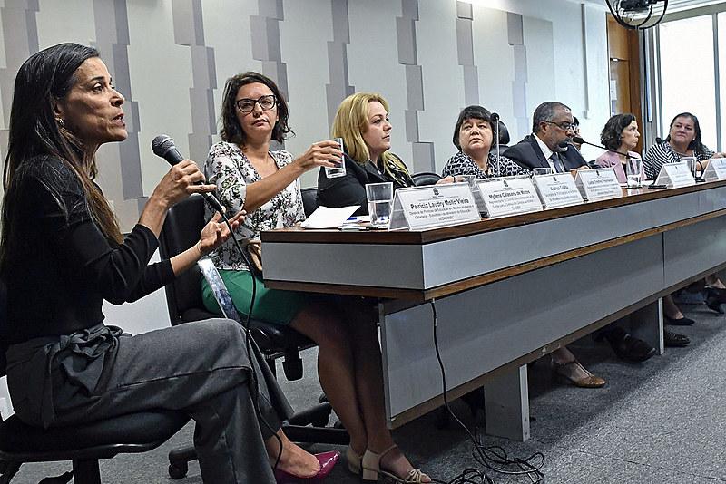 Comissão de Direitos Humanos e Legislação Participativa realiza audiência pública sobre mulheres. Violência doméstica aumentou