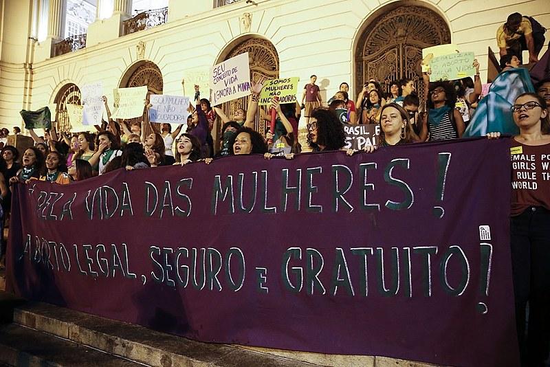 Marcha em defesa da legalização do aborto, no Rio de Janeiro | 23 de junho de 2018