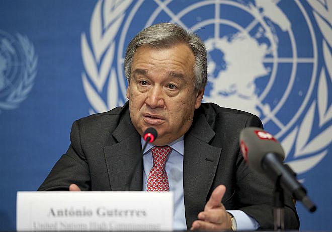 António Guterres foi escolhido como novo secretário-geral da ONU nesta quarta