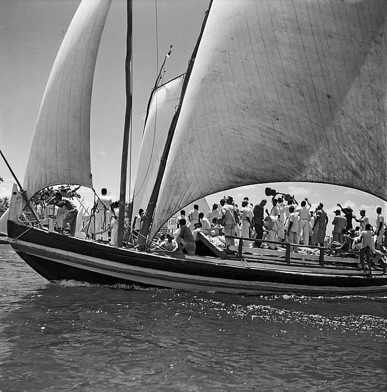 Festa de Bom Jesus dos Navegantes em 1950 na cidade de Salvador.
