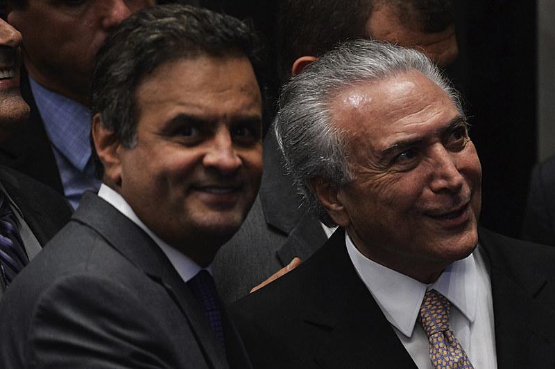 O golpe, atendendo a uma demanda personalista irresponsável do senador Aécio Neves, inverteu os sinais da ética e pôs os canalhas no poder
