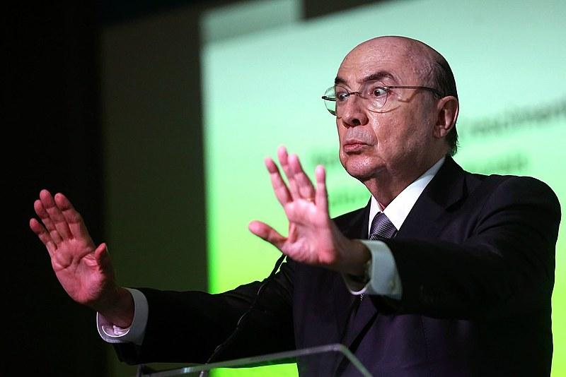 Meirelles em conferência magna sobre o tema Tendências da Economia Brasileira, no 28º Congresso Aço Brasil