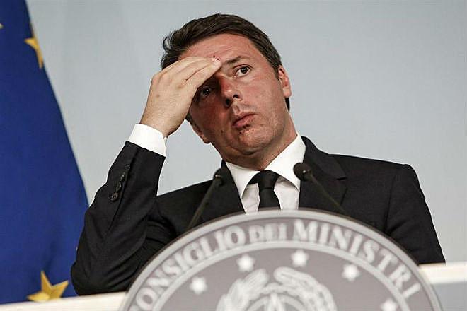 Renzi entregou seu pedido de renúncia ao presidente Sergio Mattarella nesta quarta