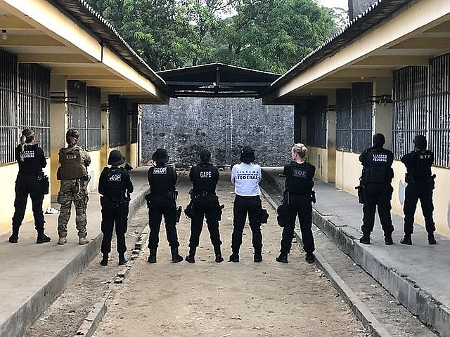Correctional agents reportedly launched grenades, used pepper spray, and beat up inmates in a Pará women's prison, a report showed