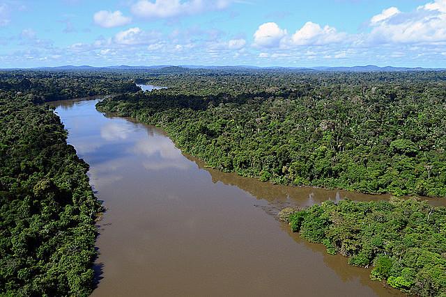Rio Jamanxim, no oeste do Pará: áreas protegidas podem ser alteradas pelo governo