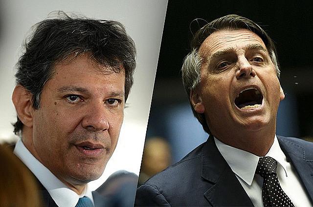 Haddad y Bolsonaro disputarán la segunda vuelta de las elecciones el 28 de octubre