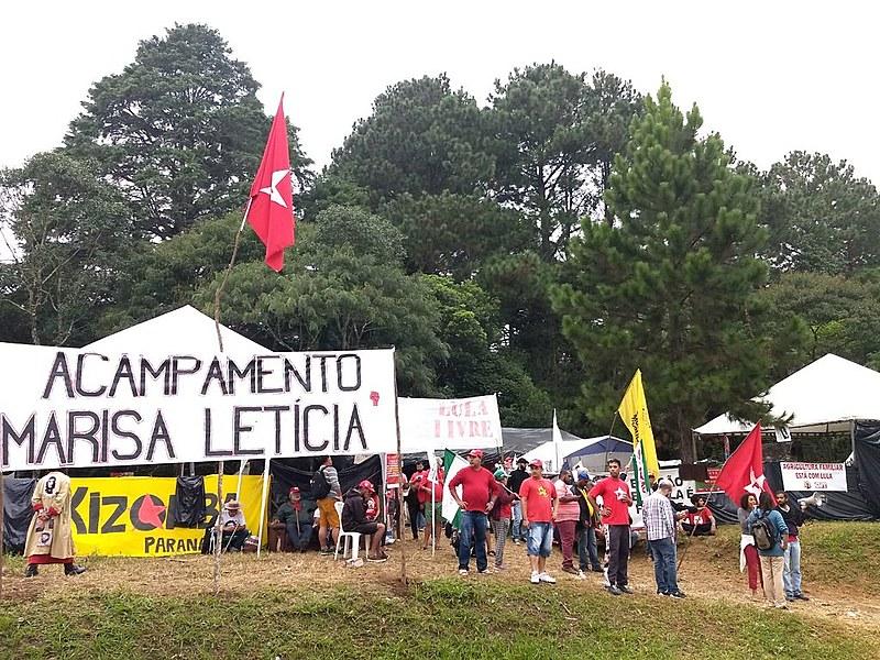 Ato de violência contra manifestantes do acampamento Marisa Letícia não pode ficar impune