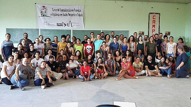 Curso de Promoção e Vigilância em Saúde Ambiental e Trabalho realizado no Centro de Formação Paulo Freire
